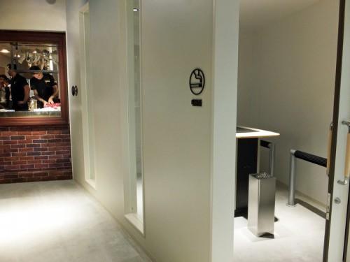 5階レストランフロアを完全分煙を採用