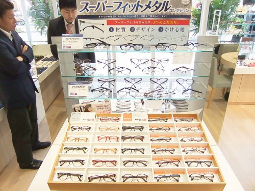 機能性にこだわったメガネ