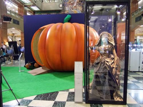 変身前のかぼちゃのセット