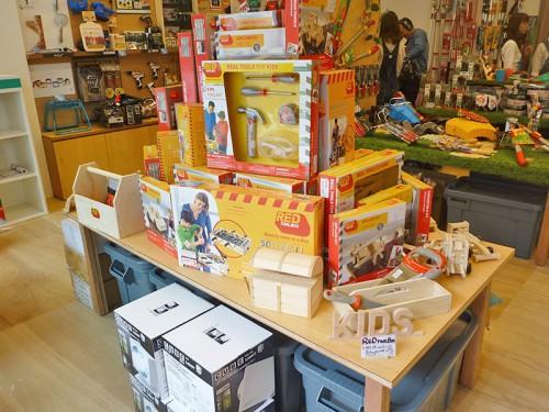 子ども作れる木製のおもちゃ