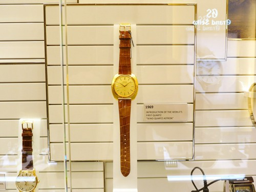 世界初のクオーツ腕時計アストロン
