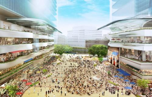 大規模広場イメージ
