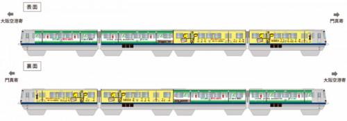 ラッピング列車イメージ図