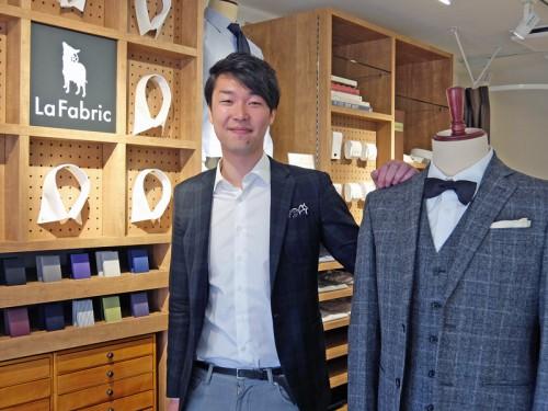 20160114lafabric 13 500x375 - La Fabric/カスタムオーダーのファッション通販、渋谷に初の実店舗