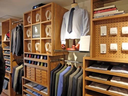 20160114lafabric 7 500x375 - La Fabric/カスタムオーダーのファッション通販、渋谷に初の実店舗