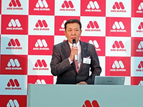 20160125mossakurada 500x375 - モスフードの櫻田社長/軽減税率の課題を引き続き、政府に訴求
