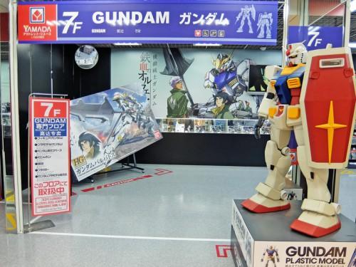 7階GUNDAM専用フロア