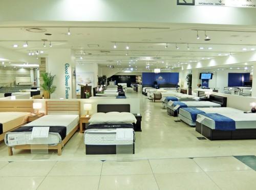 階ベット・寝具のフロア