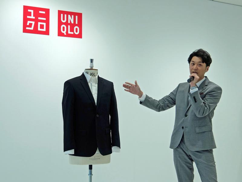 スーツ ユニクロ