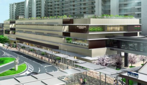 JR塚口駅ビル「VIERRA塚口」のイメージ