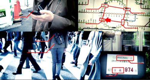 実在する街の情報を基に物語を進める「ロケなぞ」の体験イメージ