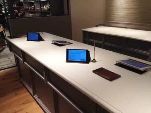 iPad-POSフロント
