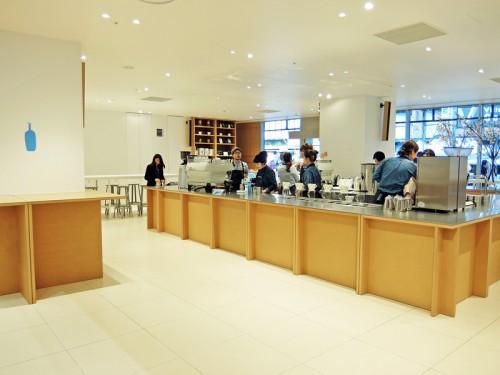 ブルーボトルコーヒー新宿カフェ