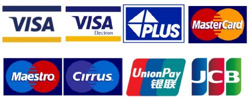 取扱可能な海外金融機関発行カード