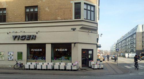 コペンハーゲンのTIGER1号店