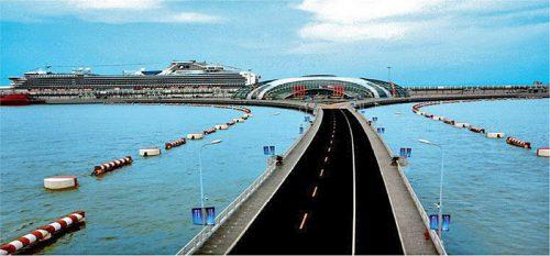 上海呉松口国際郵輪港