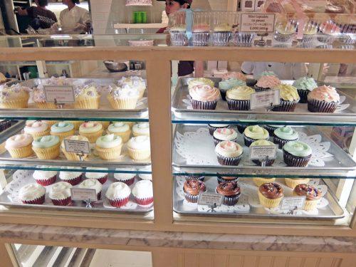 看板商品のカップケーキ