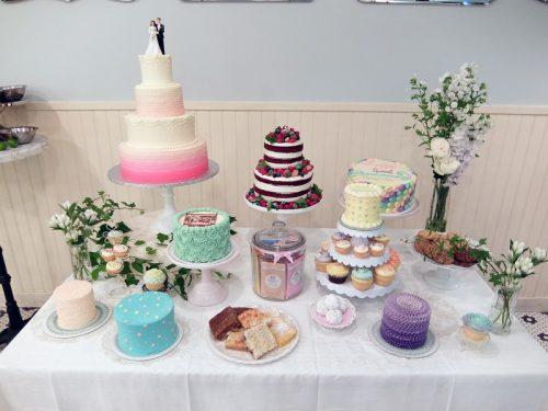 デコレーションケーキの見本