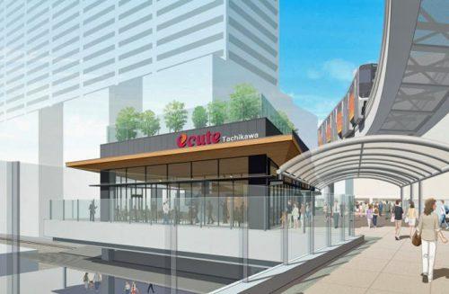 JR立川駅/独立店舗棟「エキュート立川 osoto」、8月4日オープン