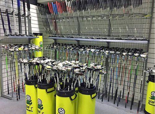 ゴルフクラブ売場