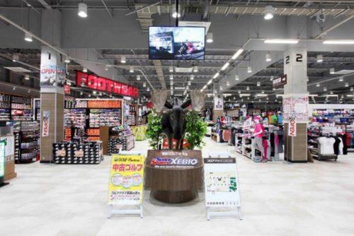 20160705xebio5 500x334 - ゼビオ/熊本市内の熊本本山店をリニューアルして営業再開