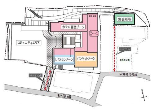 20160707ntt2 500x352 - NTT都市開発/京都の元清水小学校跡地をホテルに改装