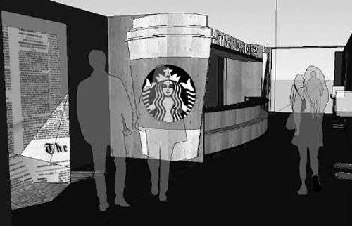 Starbucks 20th Anniversary at Matsuya Ginza