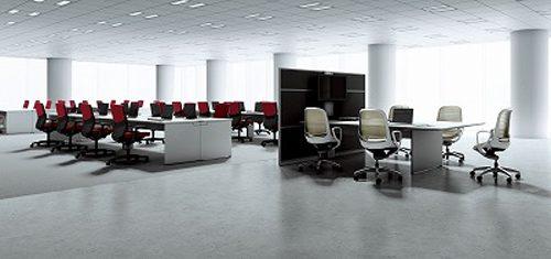 オープンオフィス設計を採用