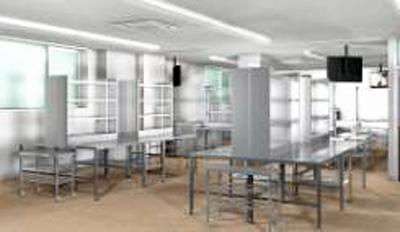 海産・精肉調理実習室