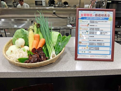 国産野菜の紹介