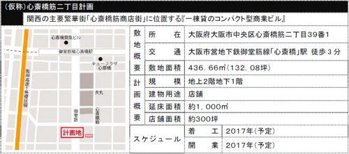 (仮称)心斎橋筋二丁目計画