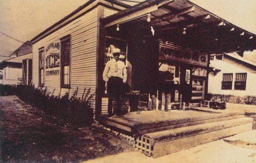 世界初のコンビニエンスストアとなった「サウスランド・アイスカンパニー店舗」