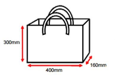 ショッピング袋のデザインを一般公募