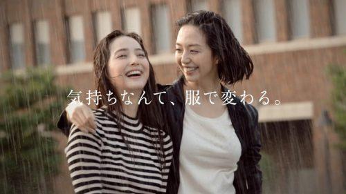 佐々木希×松島花 FABIA(ファビア) 2016秋冬ファッションムービーのシーン