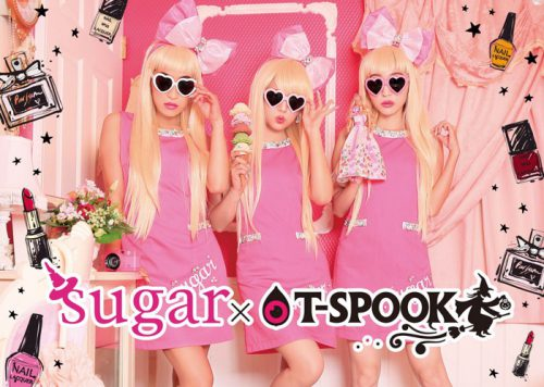 sugar×T-SPOOK