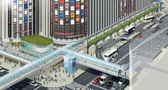 【大阪】ヨドバシカメラ、梅田に高さ約150メートルの複合商業ビル「ヨドバシ梅田タワー(仮称)」を建設すると発表©2ch.net YouTube動画>1本 ->画像>166枚