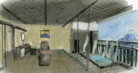 貸切個室露天風呂のイメージ