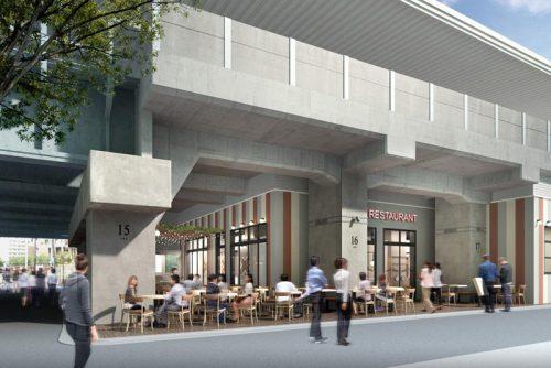 中目黒高架下の外観イメージ