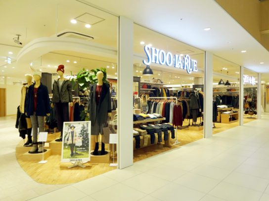 ヤスサキが運営する「シューラルー」武生楽市店(福井県武生市)