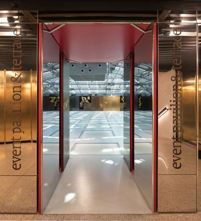 特別フロアの入口