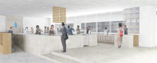 ブルーボトルコーヒー品川カフェ