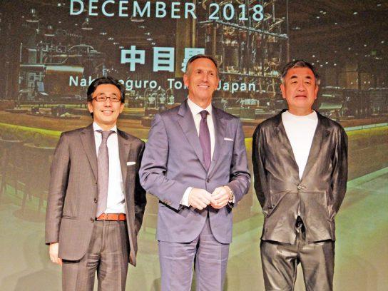 水口CEO、隈研吾氏も登壇