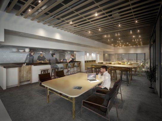 シェアオフィス&カフェ