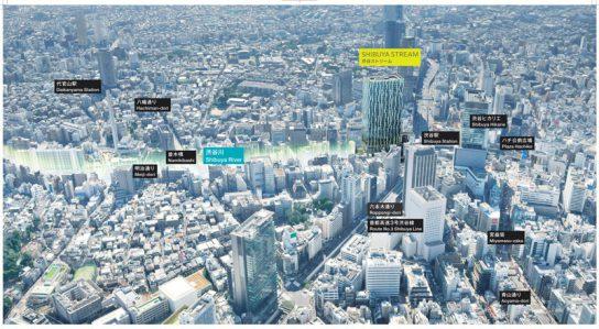 20161024shibuya 2 544x299 - 東急/旧東横線渋谷駅跡地に2018年秋、複合施設「渋谷ストリーム」
