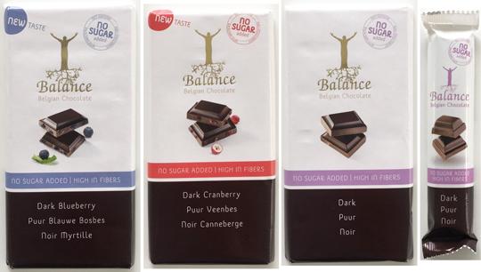 バランス チョコレート 4種