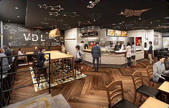 日本KFC/赤羽にアルコールを提供する新業態