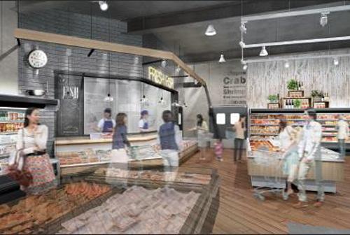 フィッシュ売場のイメージ