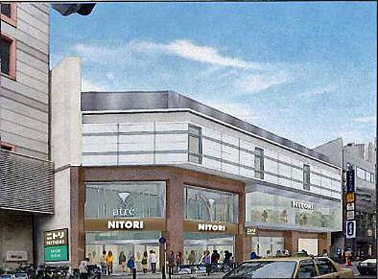 アトレ目黒1・B館の外観イメージ