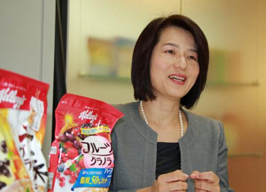 大谷弘子・執行役員マーケティング本部長