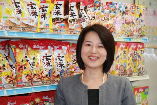 健康的な朝食であるシリアルを日本の食卓に広げたいと大谷執行役員